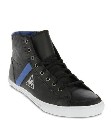 d44ec4831382 Le Coq Sportif Saint Malo High-Top Sneakers Black