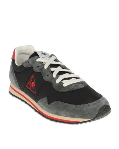 7e42384085f2 Le Coq Sportif Milos Shoes Black