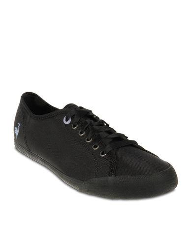67f4d47b992f4d Le Coq Sportif Deauville Sneakers Black