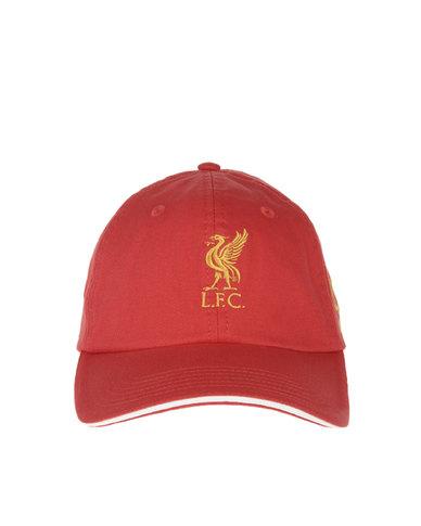 Warrior Liverpool FC Kop Cap Red  73175b963c8