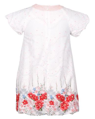 Aya Naya Star Frigg Dress White