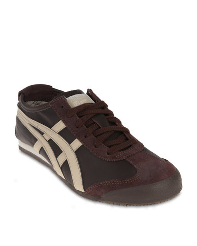 best service 3d6e2 fc945 Onitsuka Tiger Mexico 66 Sneakers Brown