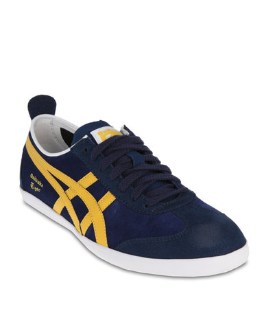 save off 82985 64683 Onitsuka Tiger Mexico 66 Vulcanised Sneakers Navy Blue