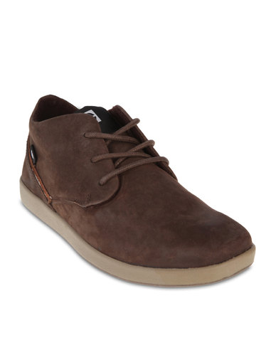 ff88d7f63696 Caterpillar Parkdale Mid-Top Sneakers Brown