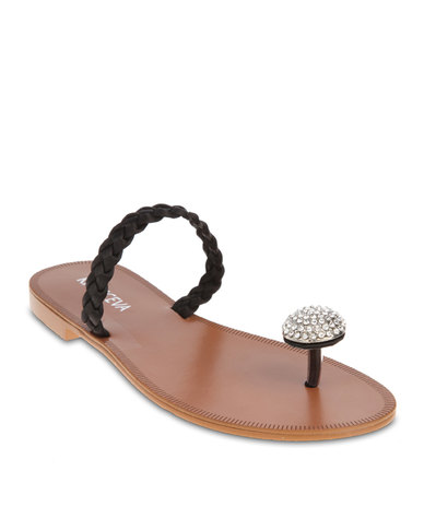 314586771bdda Krasceva Strapless Sandals Black