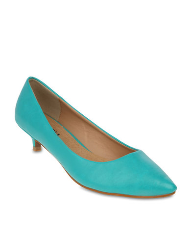 Turquoise Kitten Heels ZlDF7b2p