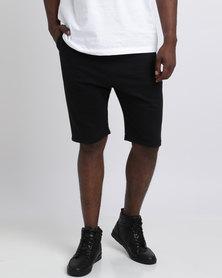 466/64 Legacy Jogger Shorts Black