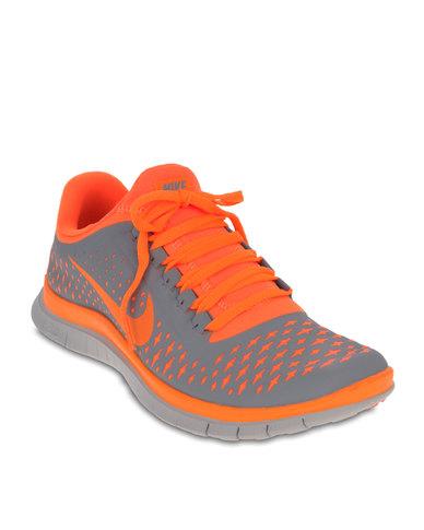 sports shoes beb24 8daee NIKE Free 3.0 V4 Orange   Zando