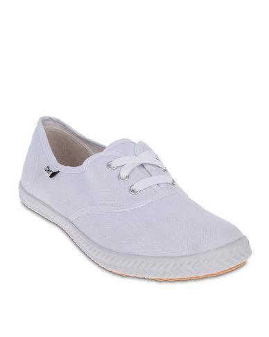 tomy ladies casual shoes white  zando