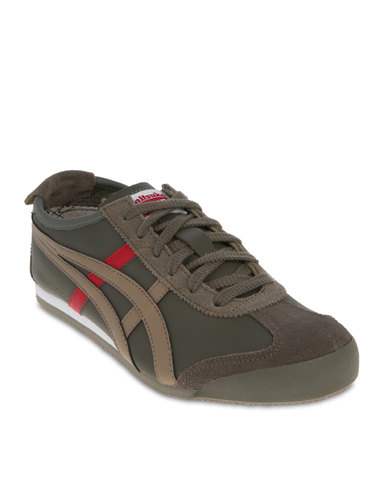 Onitsuka Tiger Mexico 66 Sneakers Olive  8ba597bcfebe