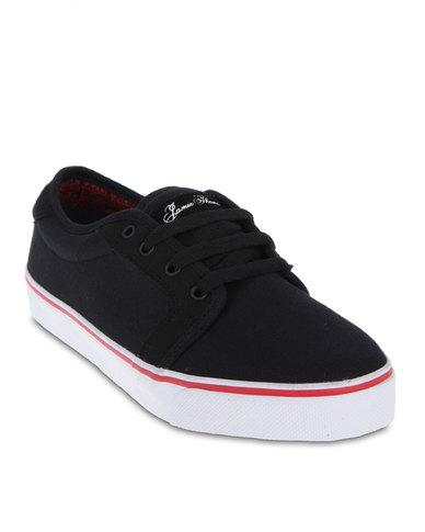 b250d61656 Fallen Forte Skate Shoes Black