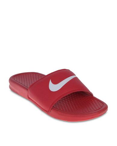 Swoosh Nike Benassi Red Sandal vY76bfyg