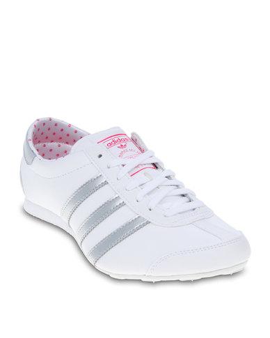 d7e8bd187f adidas Aditrack Trainers White | Zando