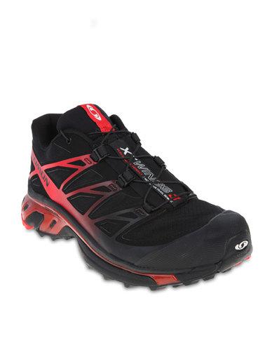 new style 90e36 61898 Salomon Xt Wings 3 Trainers Black   Zando