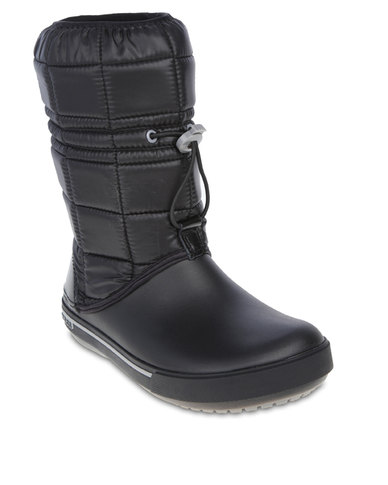 Crocs Crocband 11.5 Winter Boots Black   Zando