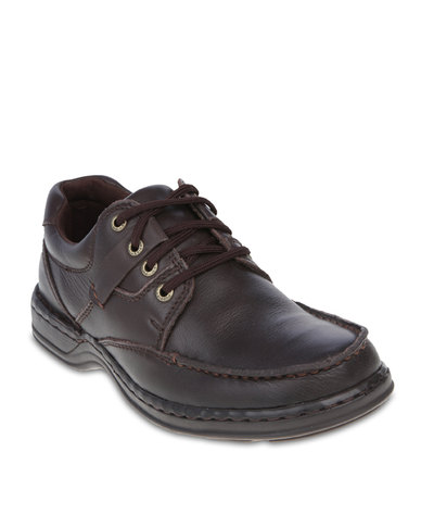 39dd68124704 Hush Puppies Randall Casual Shoes Dark Brown