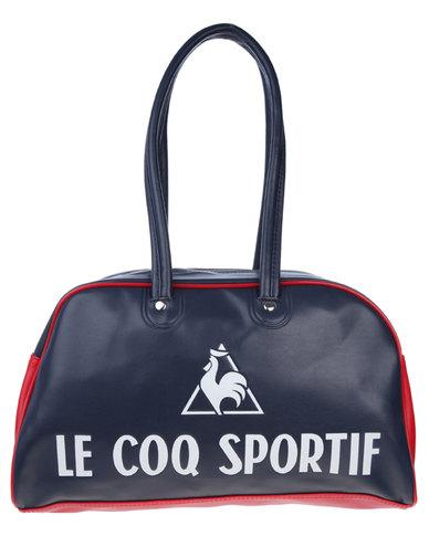2755d67db55 Le Coq Sportif Linear Bowling Bag Navy | Zando