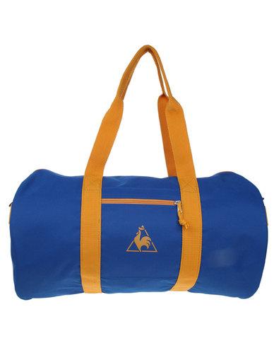 3dbf4e8441e Le Coq Sportif Sac Polochon Chronic Barrel Bag Blue | Zando