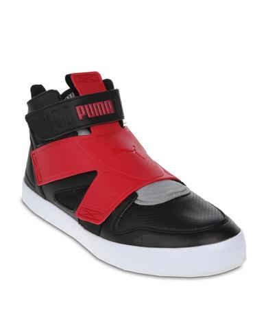 prix compétitif 4c6ee d74a3 Puma El Rey Future Shoes Black Red
