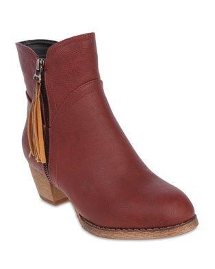 Rage Ankle Boots Red   Zando