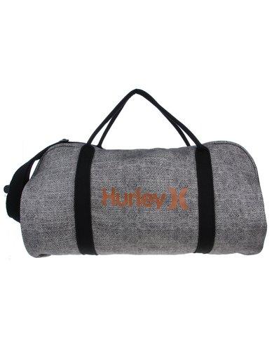 Hurley Overnight Duffel Bag Grey   Zando 9198c3b546