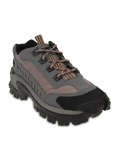 Caterpillar Intruder Lace Up Shoes Grey Zando