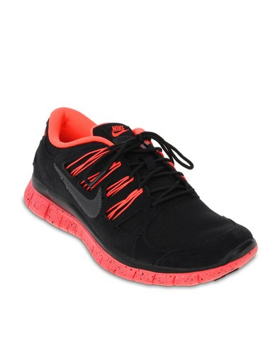 cheaper b0608 407a6 Nike Free Run 5.0+ EXT Black And Red