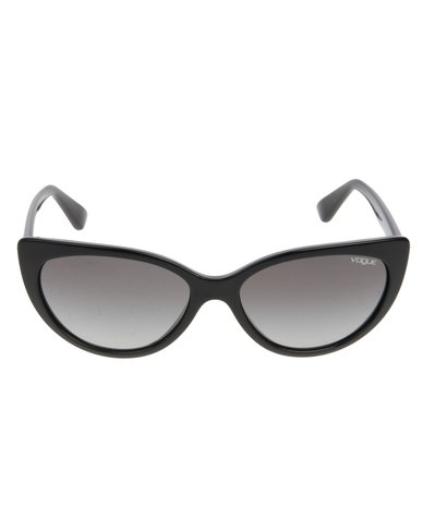 d096fbdac3f Vogue Cat Eye Sunglasses Black