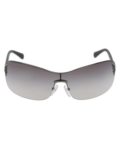 03d6013032d ... closeout prada rimless shield sunglasses grey 49884 25743