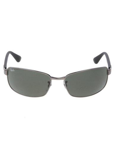 Ray-Ban Rectangle Sunglasses Black   Zando 1cb2fe571bc9
