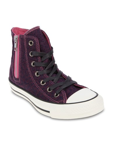 2bd1113b6be1 Converse CT All Star Side Zip High-Tops Purple