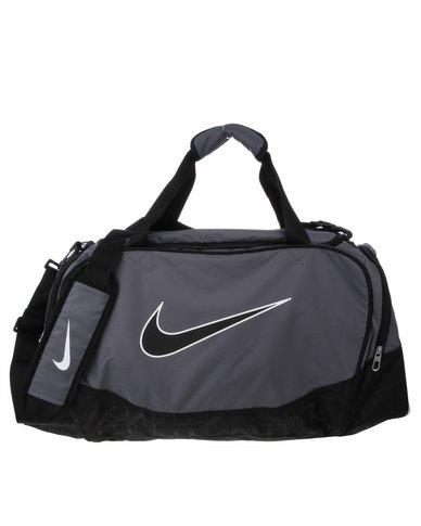 58dbc6998 Nike Brasilia 5 Medium Duffel/Grip Bag Grey | Zando