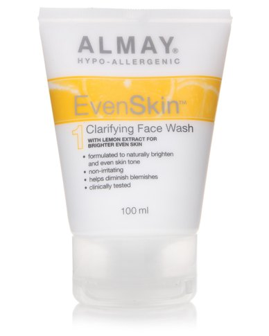 Almay facial cleansers what?