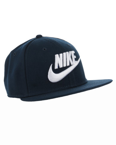Nike Futura True Snapback 2 Hat Navy Blue  bc6597dc913