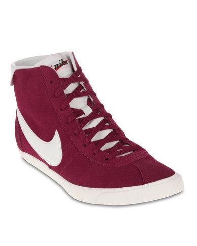 897fa2e49c9b74 Nike Bruin Lite Mid-Top Sneakers Red