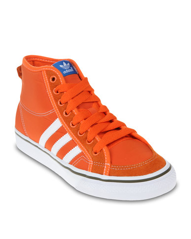 le dernier 8c542 ea634 adidas Nizza High-Top Sneakers Orange