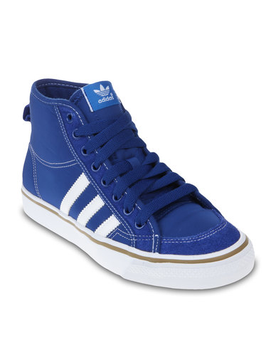 Iwe29dh Nizza Top Sneakers Blue High Adidas DWIYE9H2