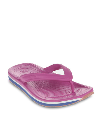 66ff71a9f2e1 Crocs Retro Flip-Flops Multi