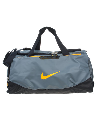 Nike Team Training Max Air Medium Duffel Grey  54cbe3888c3cd