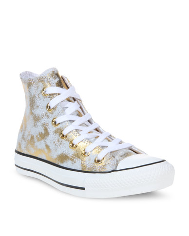 13afe41bf894 Converse Chuck Taylor All Star Sneakers Gold