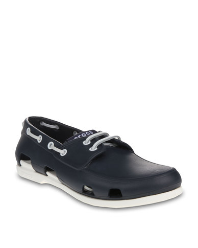 ea97212f54 Crocs Beach Line Boat Shoes Navy | Zando