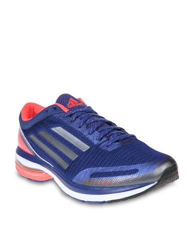 09170bcf3f96e ... low price adidas adizero aegis 3 running shoes blue 5323e e3b3a