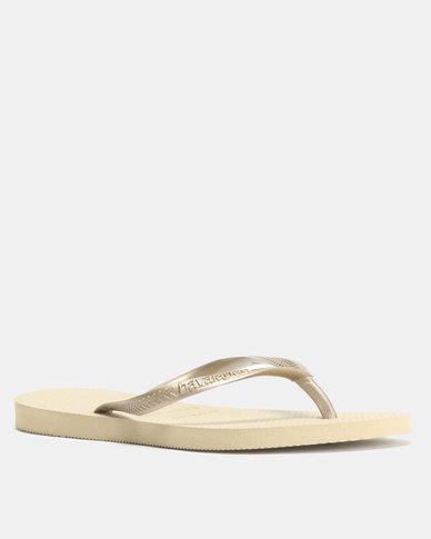 d727fa1f01328 Havaianas Slim Flip Flops Sand Grey Light Golden