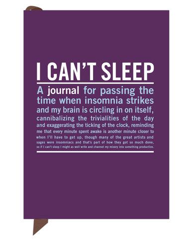 Knock Knock I Cant Sleep Mini Inner Truth Journal Purple Zando