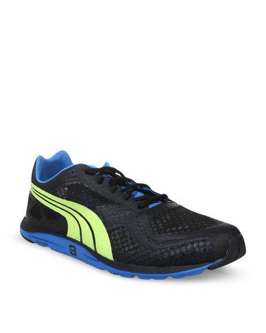 b7527d84ed23 Puma Faas 100 R Running Shoes Black