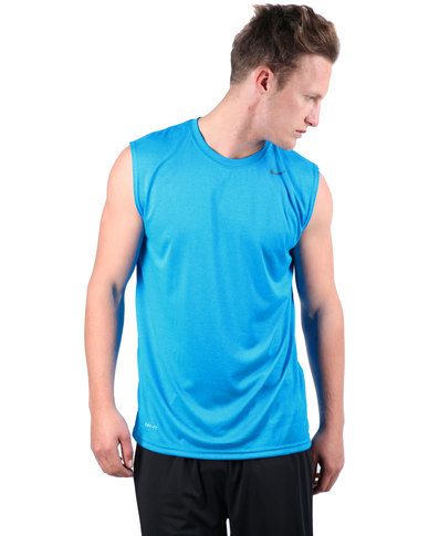 7d9099ba Nike Legend Poly Sleeveless Top Blue