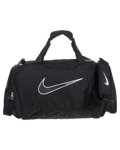 eb61d9464 Nike Brasilia 5 Medium Duffel/Grip Bag Black | Zando