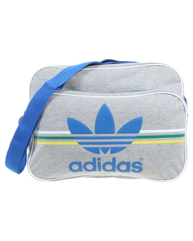 adidas Airliner Jersey Bag Grey  20b2ecde587f9