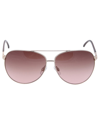3a7f7435a2 Dot Dash Nookie Aviator Sunglasses Brown