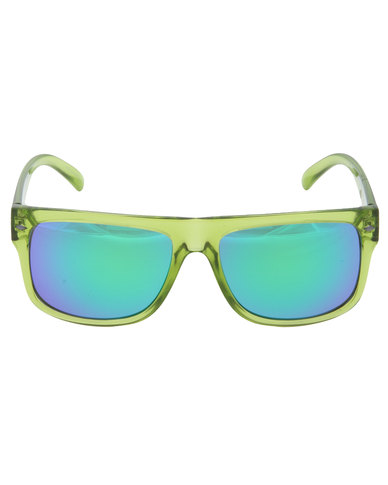 7b2e8f73588 Dot Dash Sidecar Sunglasses Green